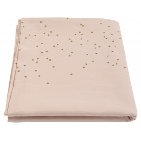 Nappe Lina biscuit pluie or