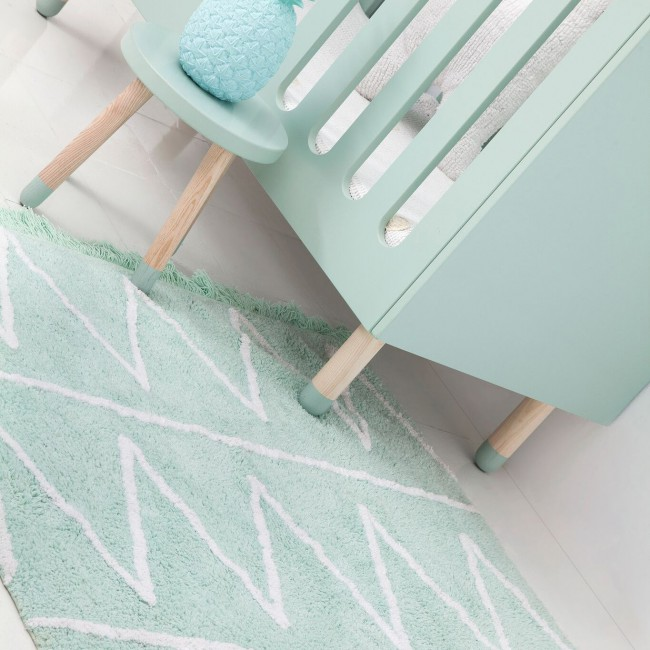 Tapis Hippy mint