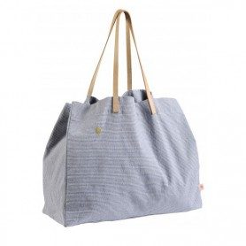 Sac shopping Finette indigo