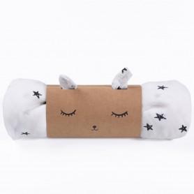 Lange bébé - petites étoiles coton bio