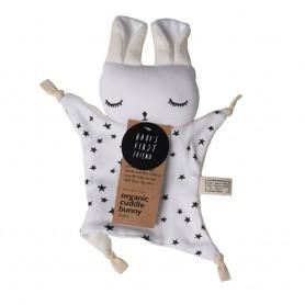 Doudou lapin étoiles coton bio
