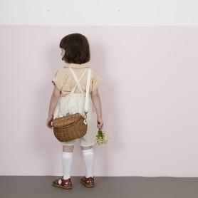 Panier en rotin enfant Mini Chari - Olli Ella