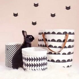 Stickers enfant petit chat noir