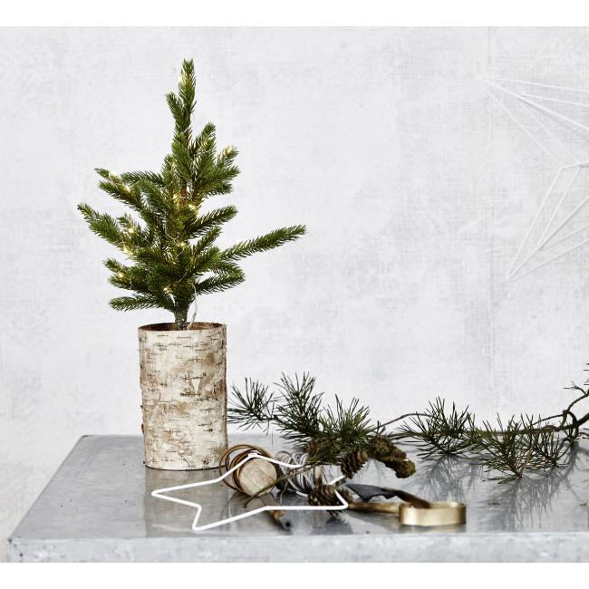 Sapin de Noël illuminé 64 cm