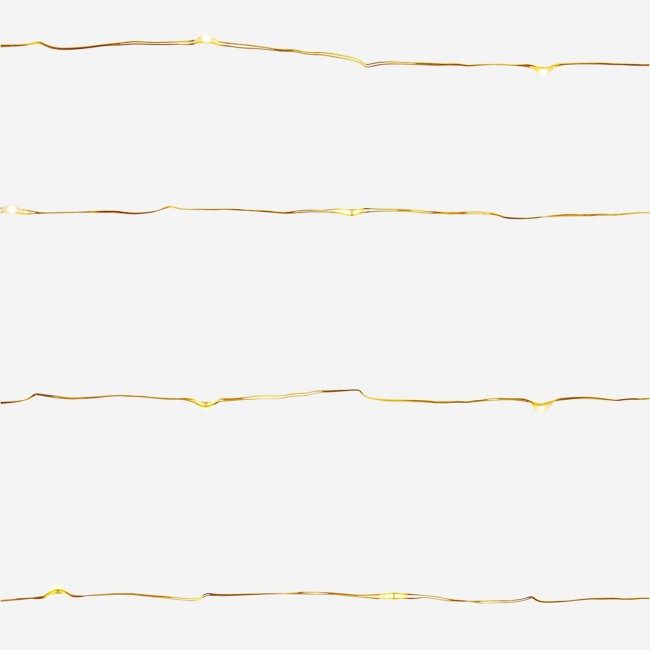 Guirlande lumineuse dorée Madam Stoltz