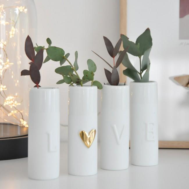 Minis vases love