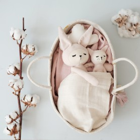 Doudou poupée Buddy bunny - Fabelab