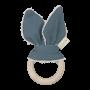 Anneau de dentition - Whale (bleu épicéa)