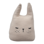 Coussin musical lapin Rose - Fabelab