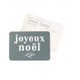 Carte postale - Joyeux Noël - Adèle bleu mystérieux