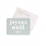 Carte postale - Joyeux Noël - Adele bleu lichen
