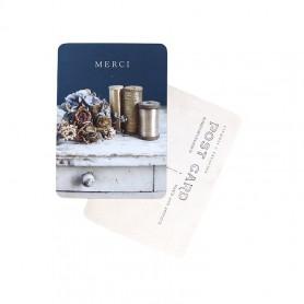 Carte postale - Merci heure bleue