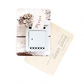 carte postale - merci Letter box