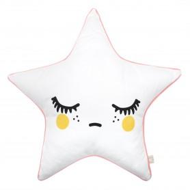 Coussin enfant étoile Sleepy Dolly Star joues jaunes