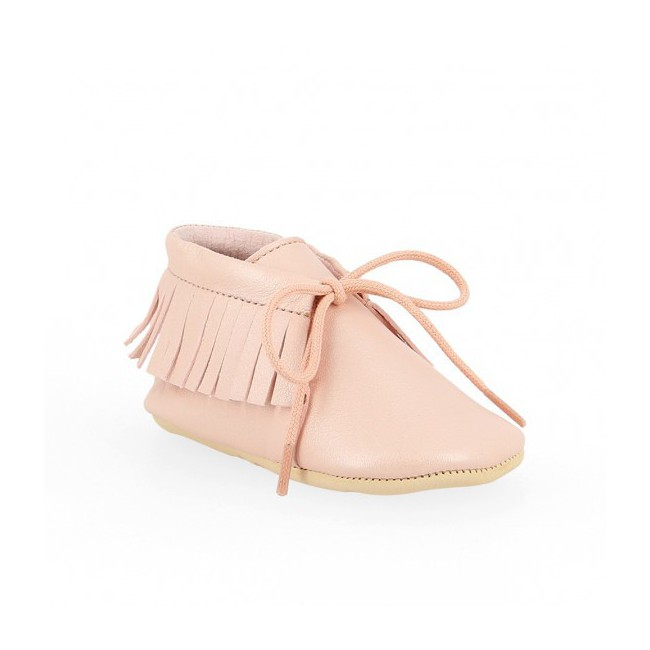 Chaussons bébé Meximoo - Rose Baba