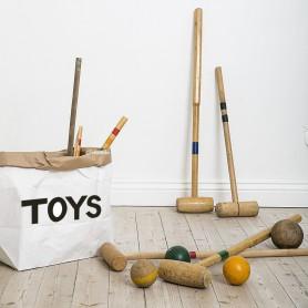Sac à jouet en papier - toys small