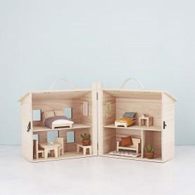 Mobilier en bois pour maison de poupée Olli Ella