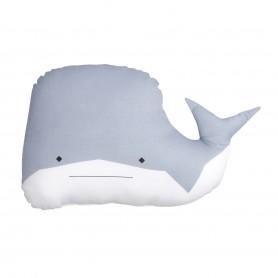 Coussin enfant baleine Fabelab