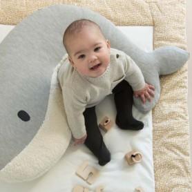 Coussin d'allaitement ou de relaxation baleine
