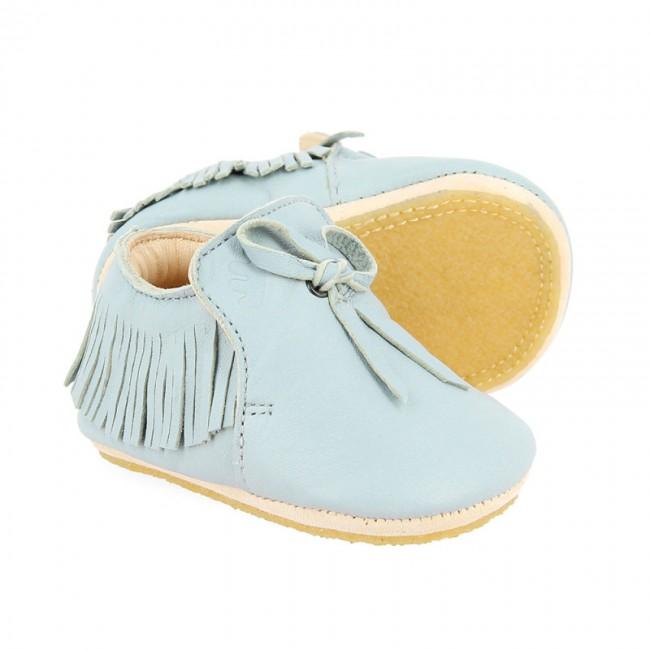 Chaussons bébé Mexiblu - Bleu écume