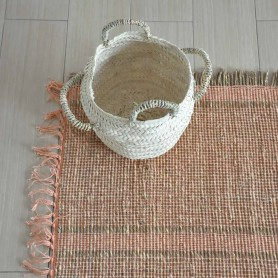 Tapis jonc naturel