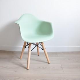 Chaise enfant style Daw Eames - Mint