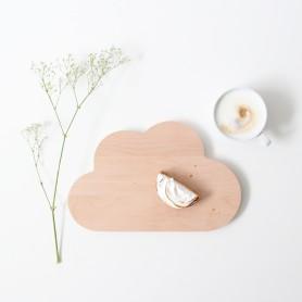 planche à découper ou à snacker forme nuage
