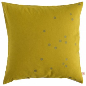 Housse de coussin Lina Jaune colombo Or
