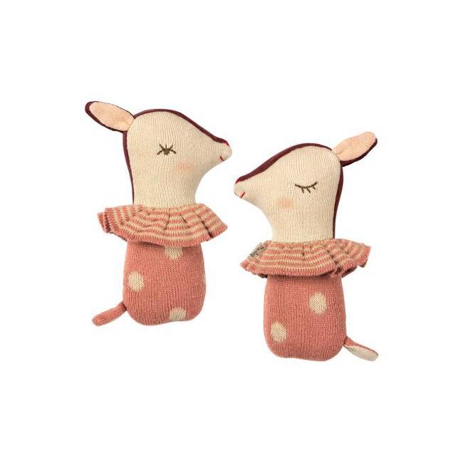 Hochet Bambi Rose Maileg