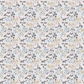 Papier Peint floral Adèle fond clair