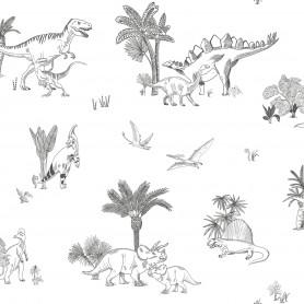 Papier Peint enfant Dinosaures