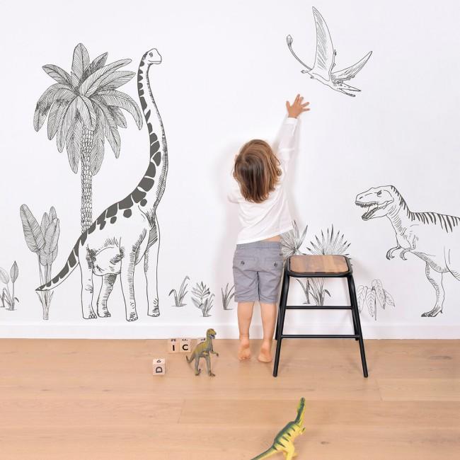 Sticker enfant XL Dinosaure
