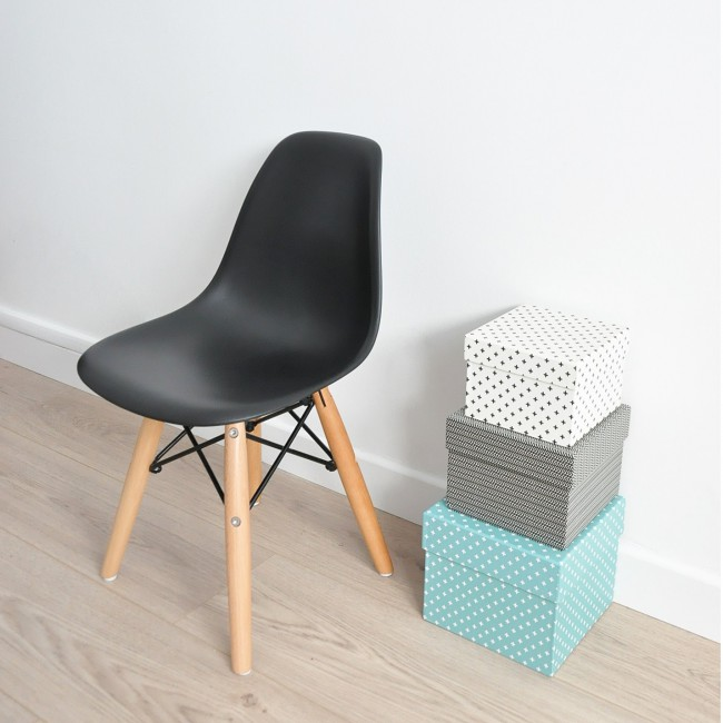 Chaise enfant style Dsw Eames