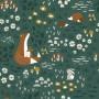 Papier peint enfant Animaux de la forêt