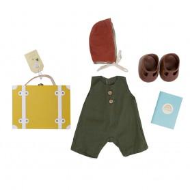 Dinkum Doll Travel Togs moutarde