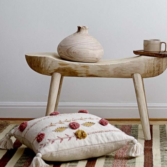 Vase décoratif en bois