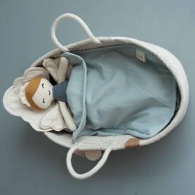 Parure de lit poupée Nuage