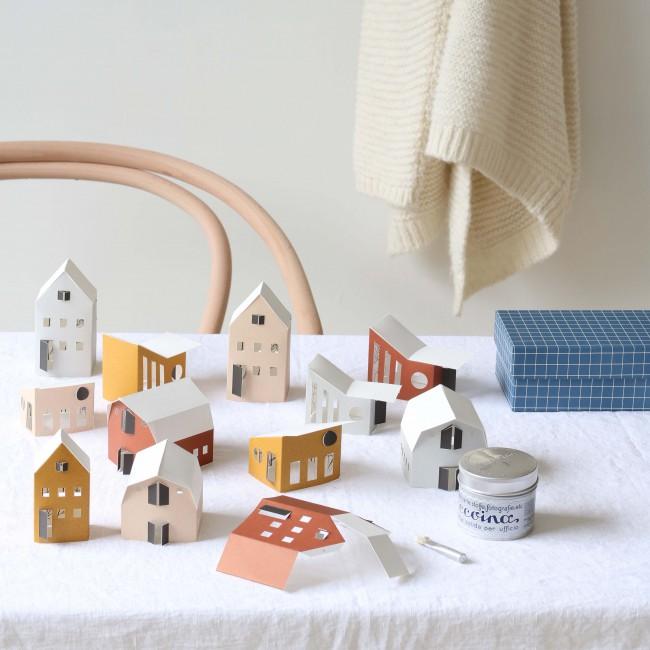 Petites maisons de papier DIY BYGGE