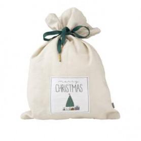 Pochette cadeau en tissu Merry Xmas