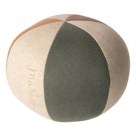 Ballon souple en coton pailleté/vert