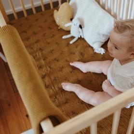 Couverture bébé Bou - Cumin