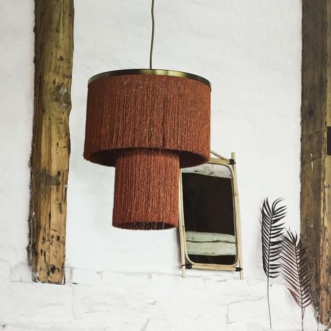 Miroir rectangulaire en bambou Madam Stoltz