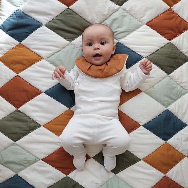 Couverture bébé Patchwork Fabelab