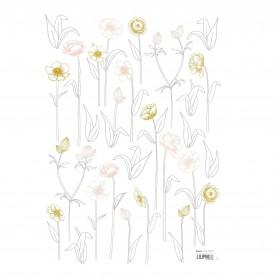 Sticker enfant petites fleurs