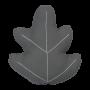 Coussin feuille de chêne - Fabelab