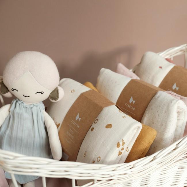 Parure de lit poupée - Fabelab