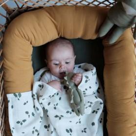 Hochet bébé en tissu - Dragon