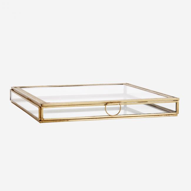 Grande boîte à bijoux en verre