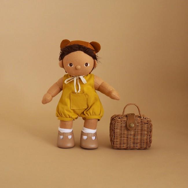 Valisette en rotin pour poupée - Olli Ella