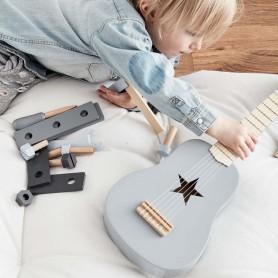 Guitare en bois